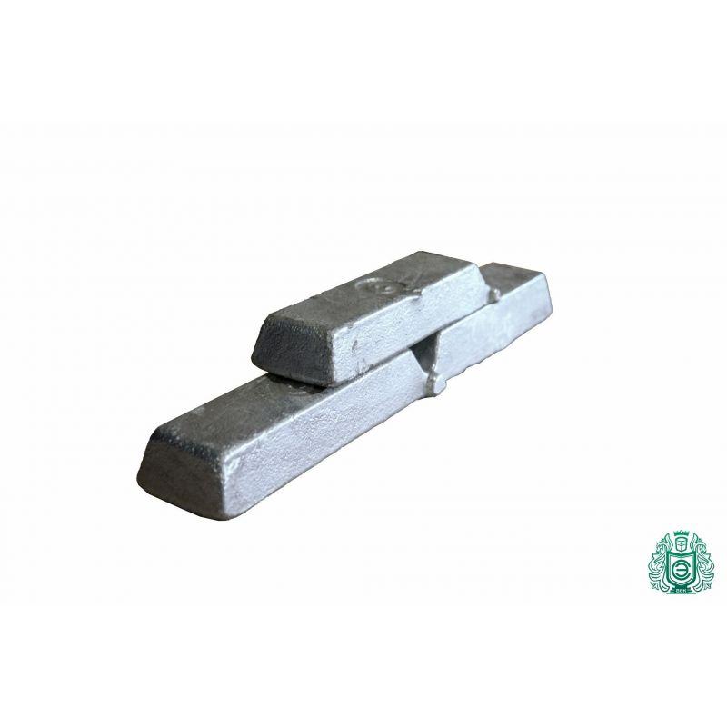 Aluminium Barren 100gr-5.0kg 99.9% AlMg1 gegossen Alu Alubarren Aluminiumbarren,  Aluminium