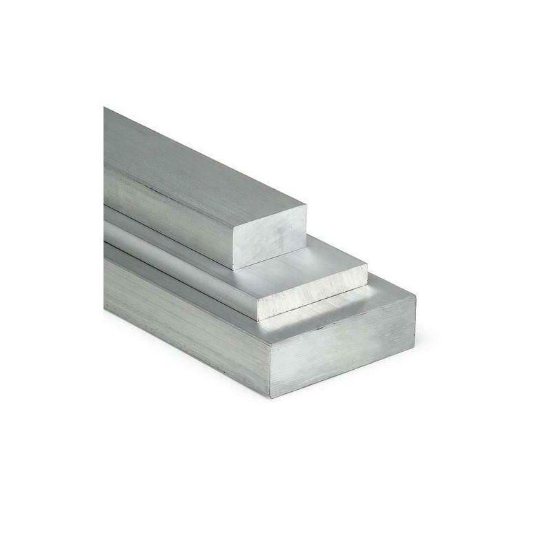 Aluminium Flachstange 15x10mm-100x15mm AlMgSi0.5 Flachmaterial Aluprofil Flacheisen,  Aluminium