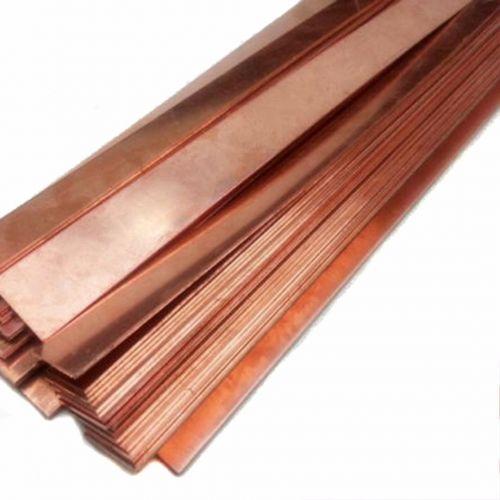 KupferPhosphor 99% rein Anode Blechplatte 10x200x50-10x200x1000mm Galvanik Elektrode,  Kupfer