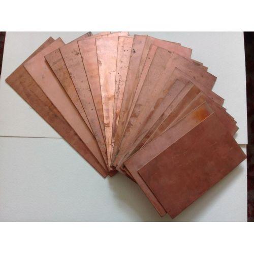 Kupfer 99.9% rein Anode Blech Platte 10x200x50-10x200x1000mm Roh Galvanik Elektrode,  Kupfer