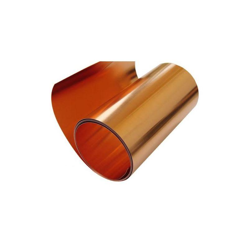 Kupferband 0.1x600mm Kupferklebeband Band 0.1 Meter bis 100 Meter,  Kupfer