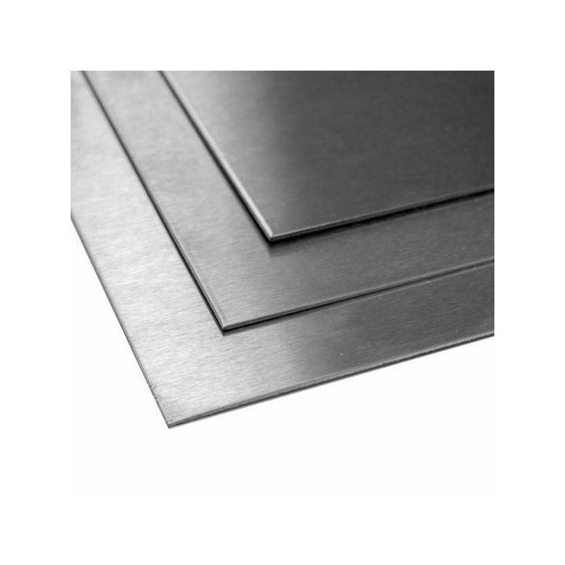 Titanblech 1mm 3.7035 Grade 2 Platten Bleche Zuschnitt 100 mm bis 2000 mm,  Titan