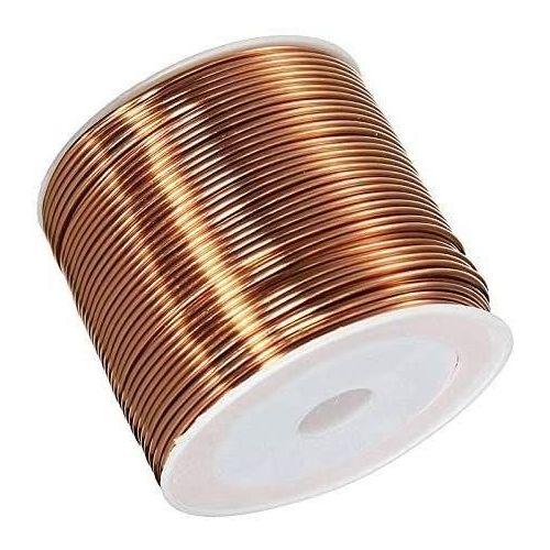 Kupferdraht Ø0.05-2.8mm lackdraht Cu 99.9 wnr 2.0090 basteldraht 2-750 Meter,  Kupfer