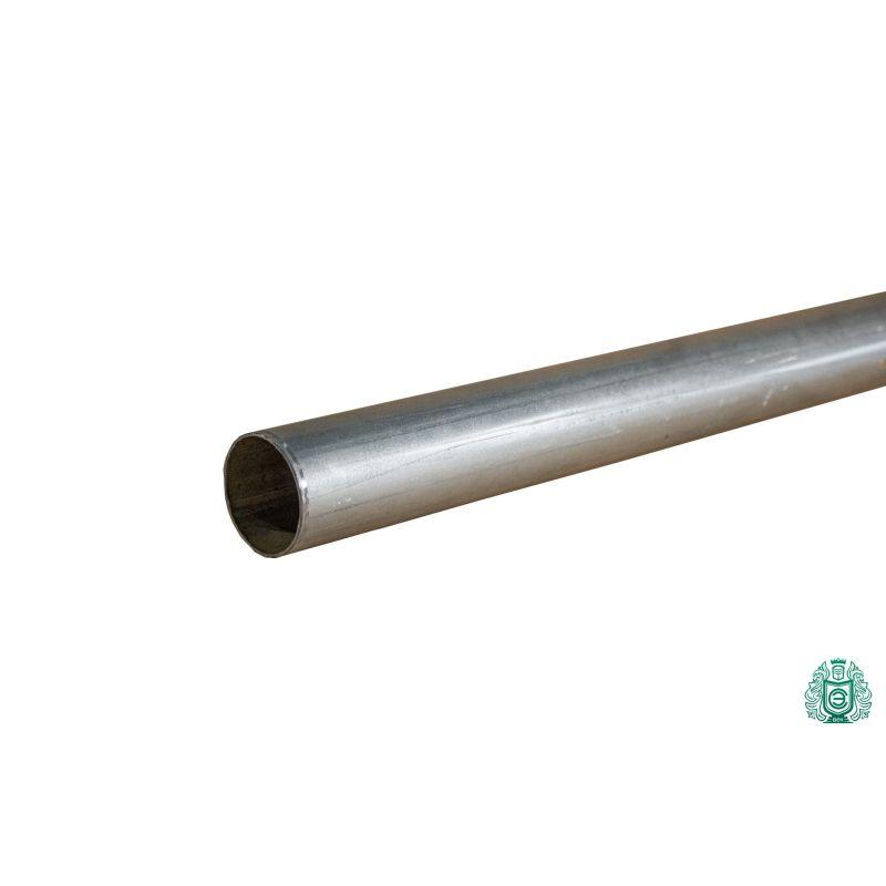 Stahlrohr verzinkt Konstruktion Leitung Geländer Gewinde Metall rund Ø 50x1.4mm