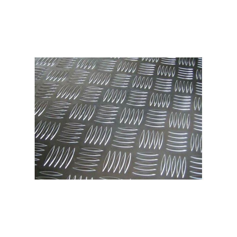 Aluminium Riffelblech 2.5/4mm Platten Al Bleche Aluplatte Feinblech wählbar