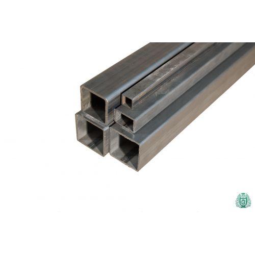 Quadratrohr Stahlrohr Hohlprofil Stahl Vierkantrohr dia 12x12x1.5 bis 100x100x3 2.5-5 Meter