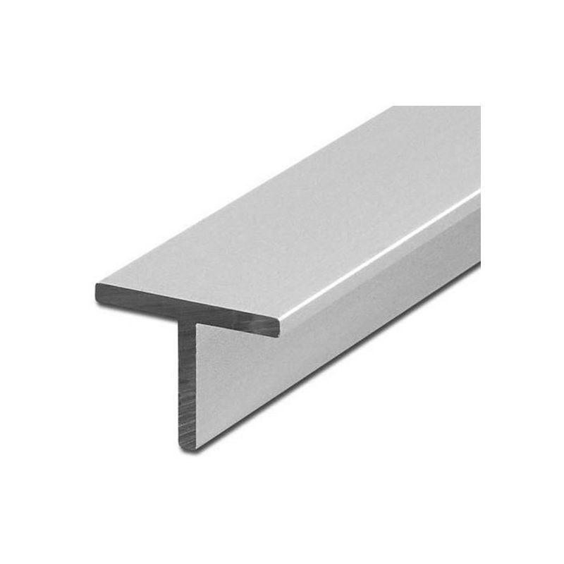 Aluminium T-profil Winkel gleichschenklig 40x40x5mm Alu 0.25-2 Meter