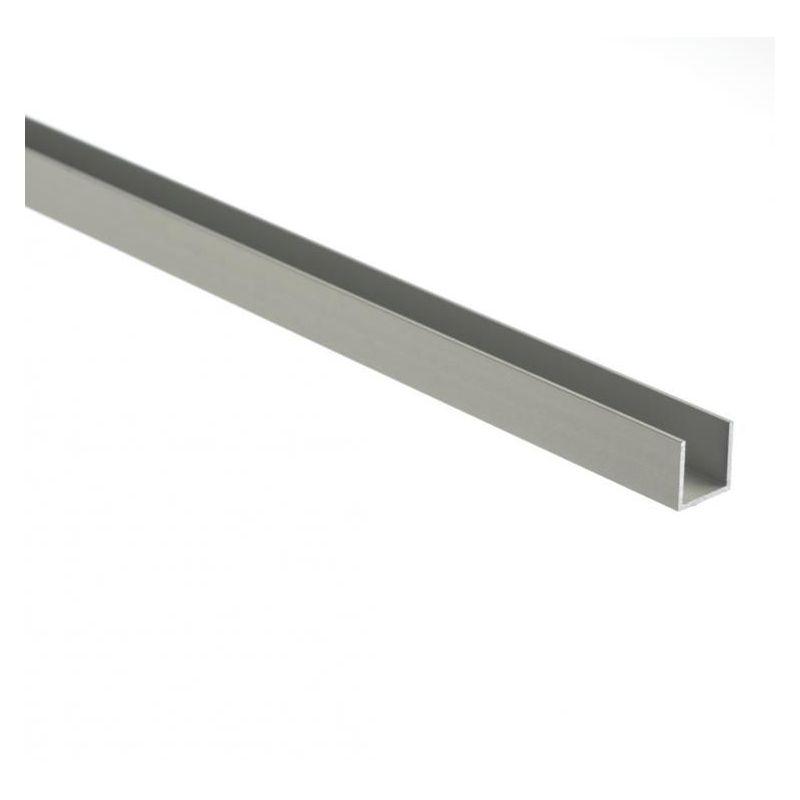 Aluminium U-profil gleichschenklig 30x20x2mm-80x20x2mm Alu Winkel
