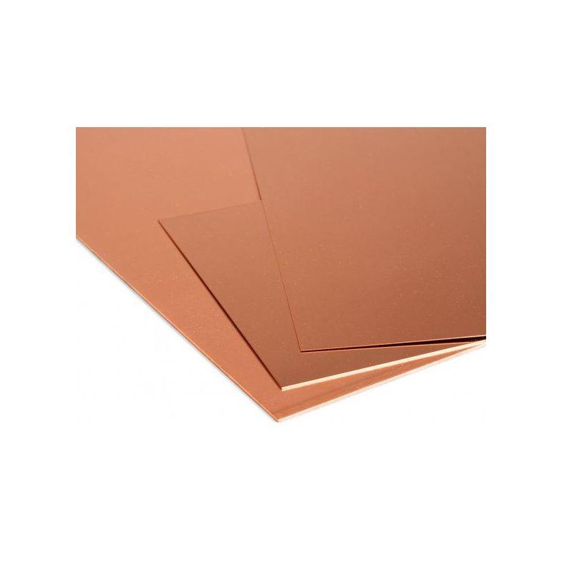 Kupferblech 4mm Platten Cu Blech Feinblech wählbar 100mm bis 2000mm