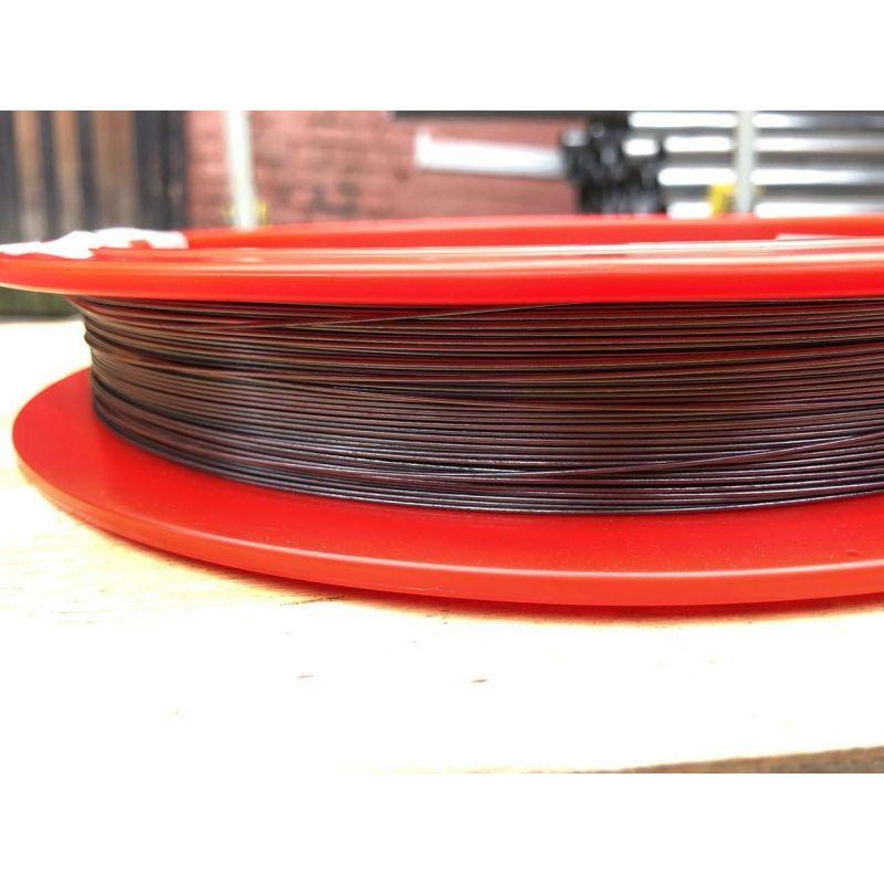 Tungsten Draht 99.9% von Ø 0.02mm bis Ø 5mm rein Metall Element 74 Wire Wolfram