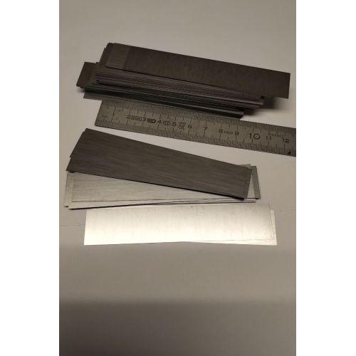 Wolfram 99% element 74 Reine Metall Metallstreifen Wolframstreifen 0.2x20x104mm