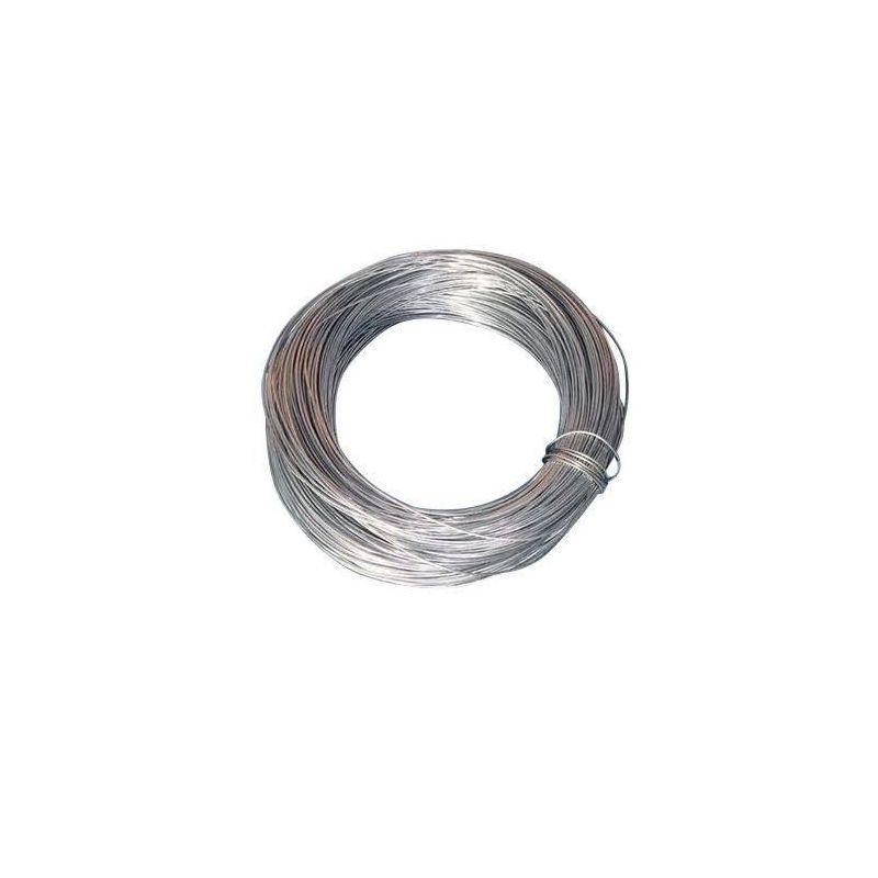 Zinkdraht 2mm 99.9% für Elektrolyse Galvanik Basteldraht Anode Schmuckdraht