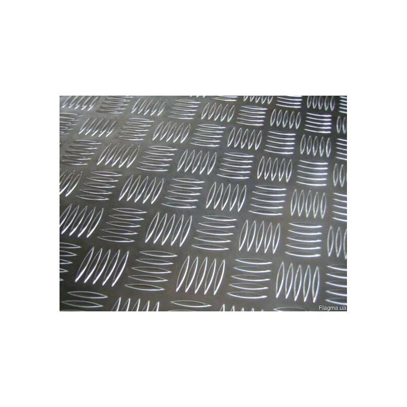 Aluminium Riffelblech 5/6.5mm Quintett Platten Al Bleche Aluplatte Feinblech