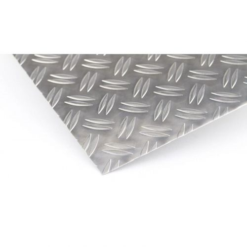 Aluminium Riffelblech 5/6.5mm Duett Platten Al Bleche Aluplatte Feinblech
