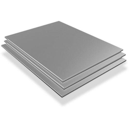 Edelstahlblech 4mm-6mm V4A Wnr. 1.4571 Platten Bleche Zuschnitt 100 mm bis 1000 mm