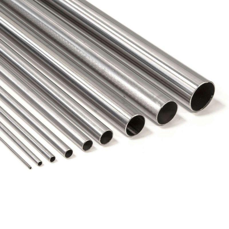 Titanrohr Grade 2 rund 6-16mm 3.7035 Klasse 2 Rohrchen Gr.2 Anti Säure 0.1-2 Meter