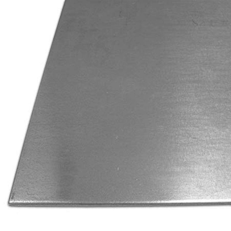 Stahlblech 0.5mm Verzinkt Platten Stahlplatte Eisen 100 mm bis 2000 mm Zuschnitt