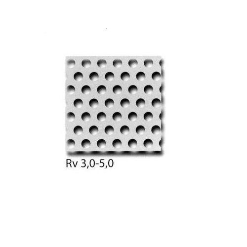 Lochblech Alu RV3-5+RV5-8+RV10-15 Platten Zuschnitt wählbar Wunschmaß möglich 100mm x 700mm