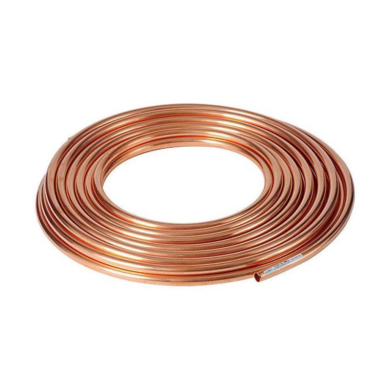 Kupferrohr 3x0.5mm-4x1mm weich geglüht im Ring Wasser ÖL GAS Heizung 1-50 Meter,  Kupfer
