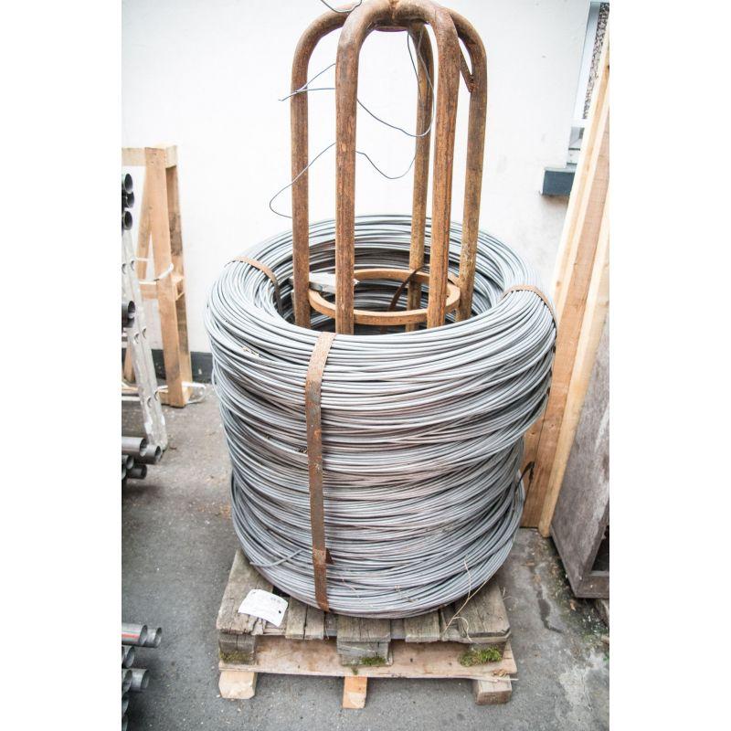 Spanndraht 0.6-8mm Bindedraht verzinkt Eisen Blumen basteln maschen 10-500 Meter,  Stahl