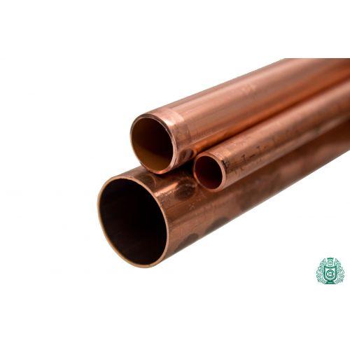 Kupferrohr 3x0.5mm-54x1.5mm Stange 2.0090 Aisi C11000 Heizung Trinkwasser 0.1-2 Meter,  Kupfer