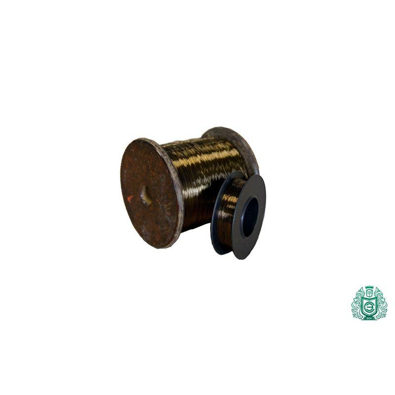 Konstantandraht Ø0.04-0.45mm Widerstandsdraht 2.0842 CuNi44 Heizdraht 2.5-100 Meter,  Nickel Legierung