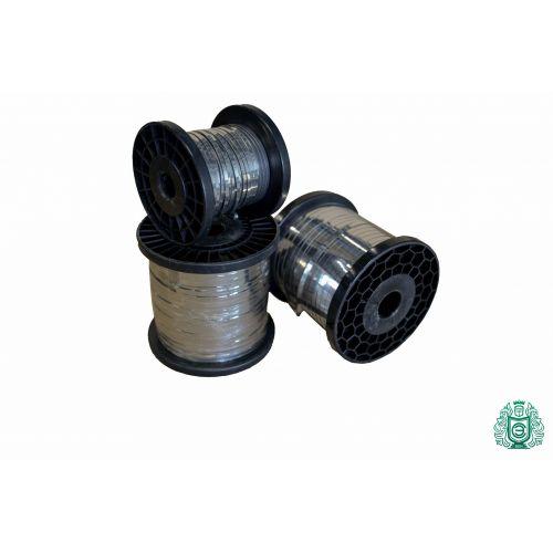 Edelstahl Band Blechband Flachdraht 0.3x0.6mm V2A 1.4301 304 Ribbon Heizdraht,  Edelstahl