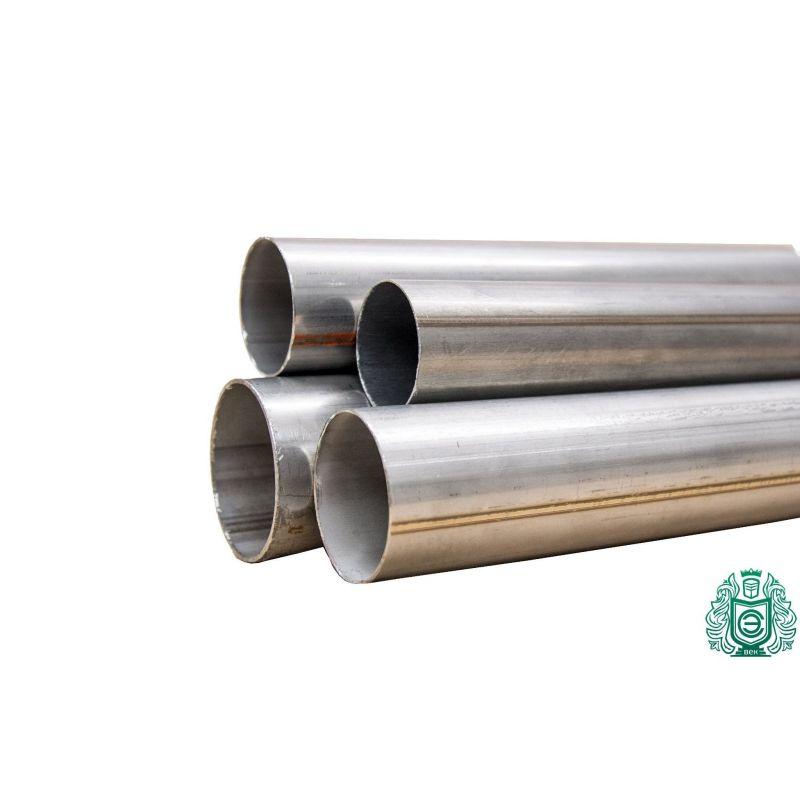 Edelstahl Rundrohr V2A /Ø 101,6x2mm K240 150cm auf Zuschnitt L/änge 1500mm